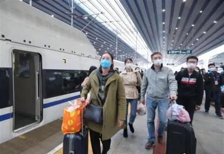 1万多人从湖北乘高铁返京 谁能回?怎么回?答案来了