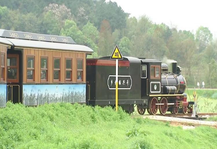 春暖花开 乡约长沙 春天的列车驶进宁乡道林古镇