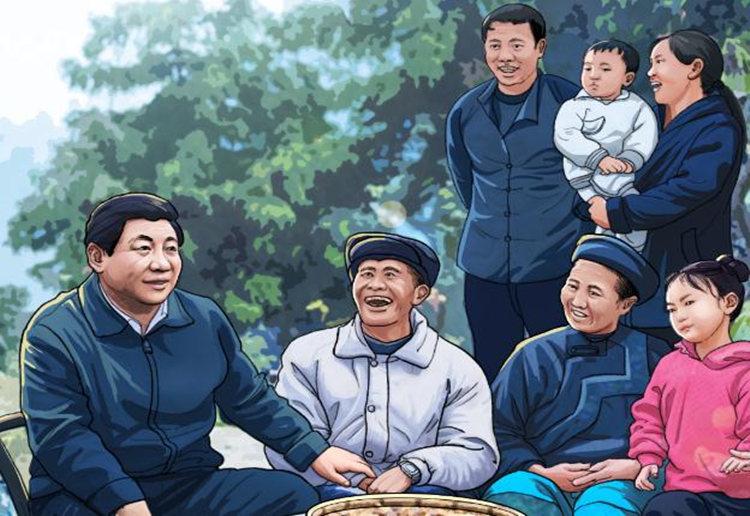 手绘丨八张图看湖南八年不寻常